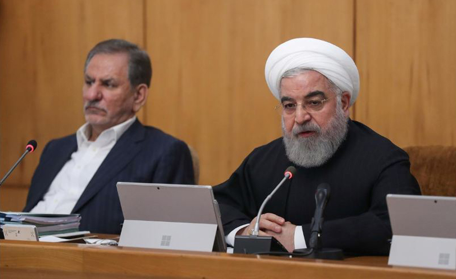 Iran's Rouhani, claims, victory, unrest, blames, foreigners