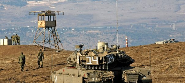 Israel Syria military attacks rockets