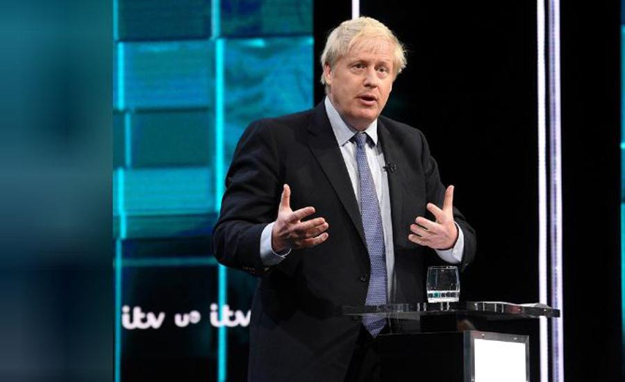 British PM Johnson raises prospect of 10 billion pound payroll tax cut