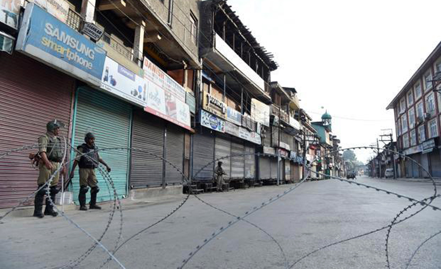Curfew lockdown IoK indian Occupied Kashmir Kashmir LadakhIoK Indian Occupied Kashmir consecutive day 98th day curfew