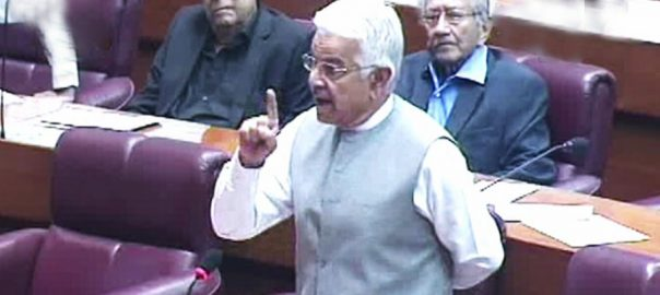 democracy Khawaja Asif attitude JUI-F's demands