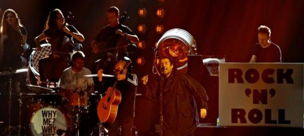 Liam Gallagher MTV Rock MTV Europe Music Award MTV Rock Icon