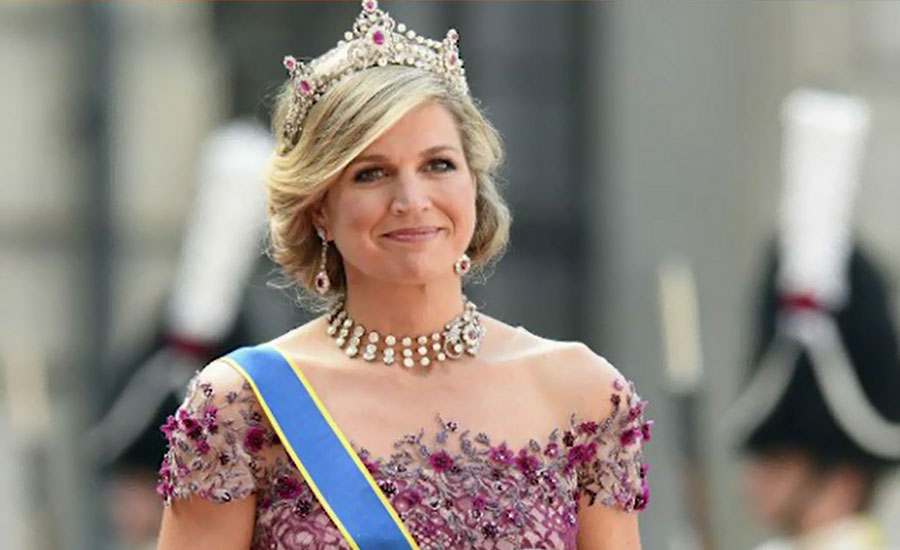 Holland Queen Máxima arrives in Pakistan