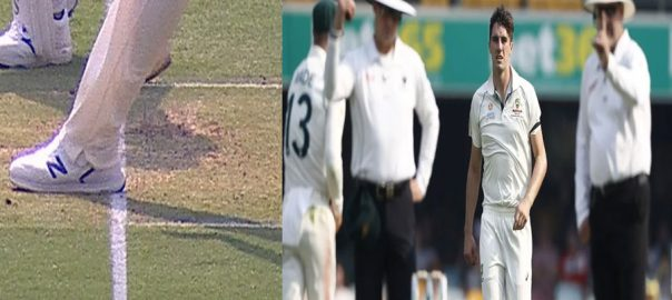Mohammad Rizwan no-ball Brisbane controversial no-ball third umpire