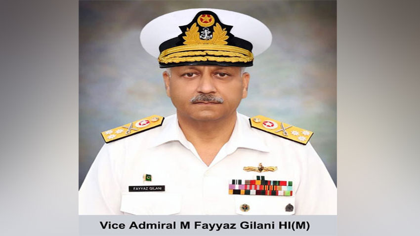 Vice Admiral Fayyaz Gilani appointed as vice chief of naval staff