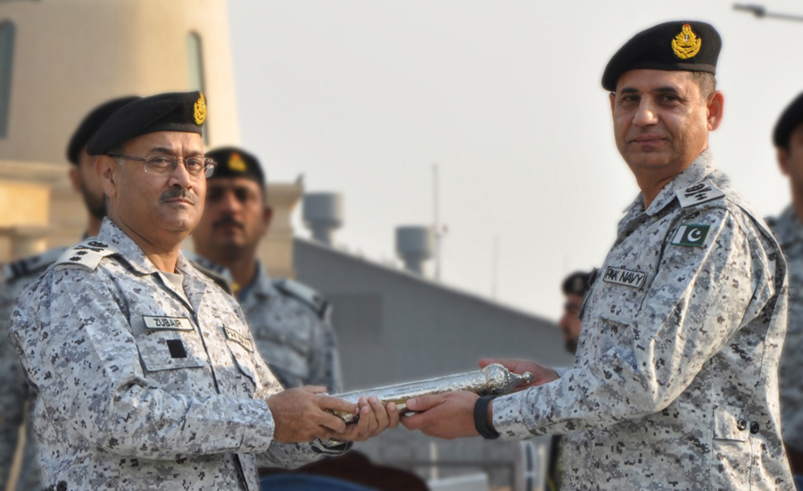 Rear Admiral, M Zubair Shafique, takes over, Commander, Central Punjab