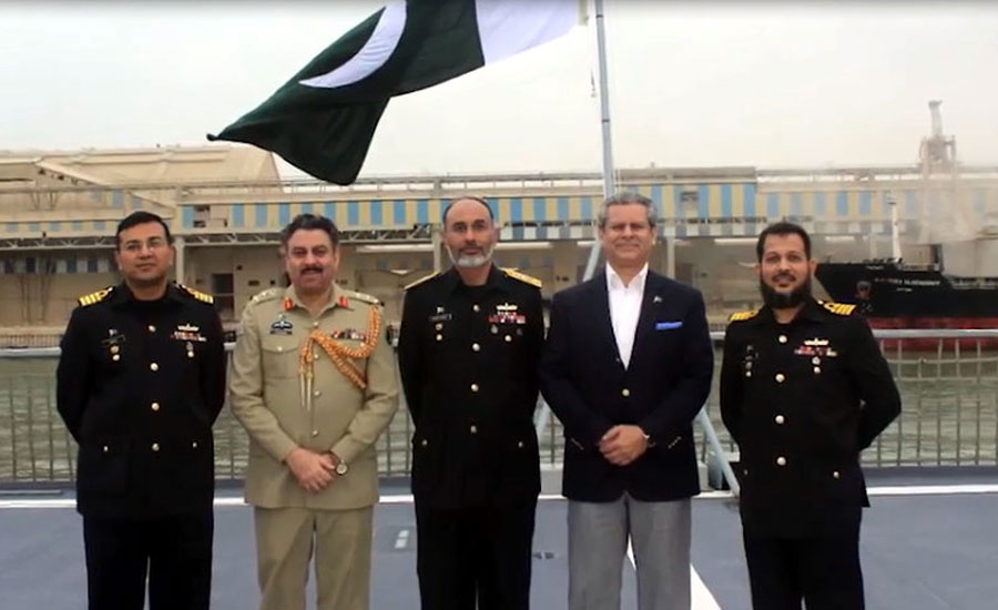 Morocco Pakistan Navy's ships ships Joint exercise