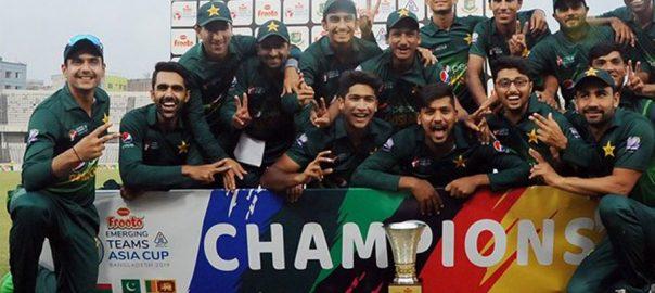 Emerging Asia Cup Pakistan bangladesh Mirpur PCB