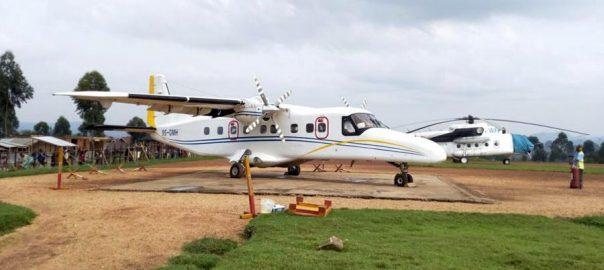 Plane crash, kills 18, eastern Congo