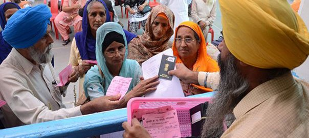 Baba Guru Nanak India Sikh sikh pilgrimsSikh pilgrims Pakistan Lahore Wagah Border Baba Guru nanak birth anniversary