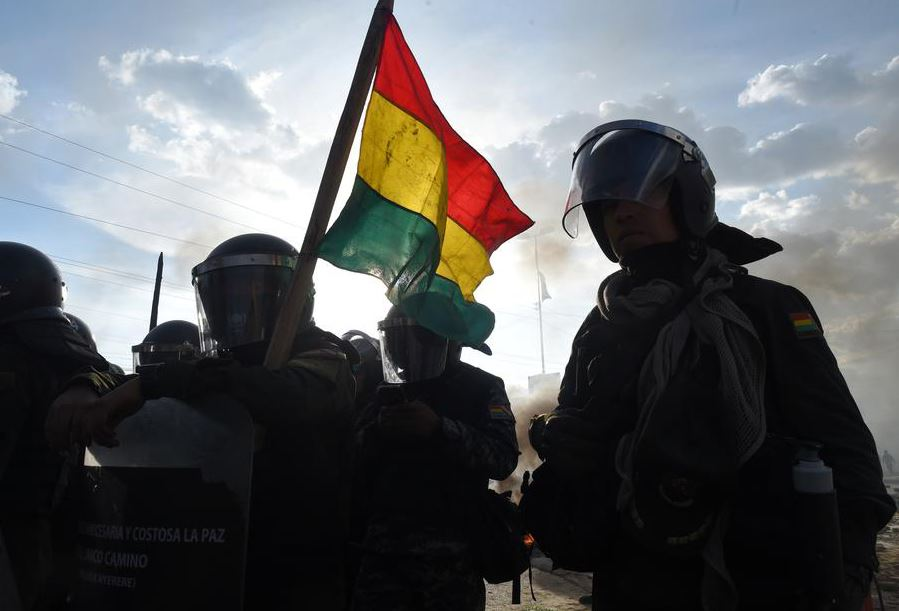 U.N,.warns, Bolivia, crisis, spin, out, control