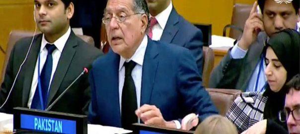 Pakistan UNSC inaction HR violations IoK Indian Occupied Kashmir
