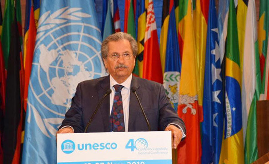 1.5mn Kashmiri students not able to attend schools: Shafqat tells UNESCO