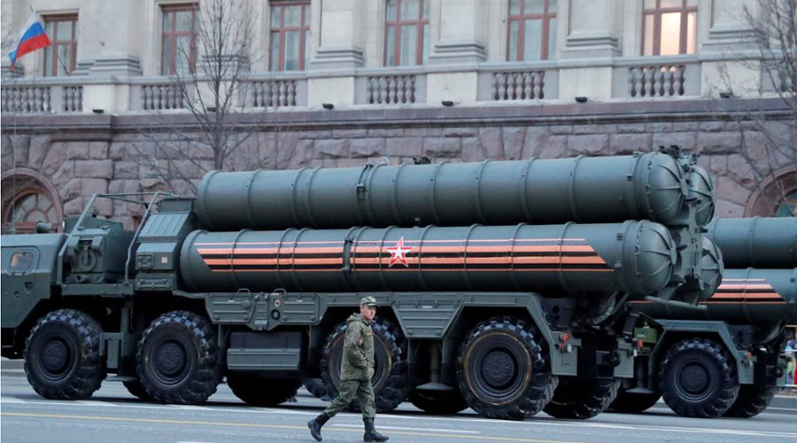 Russian Missile Turkey US sanctions US White House