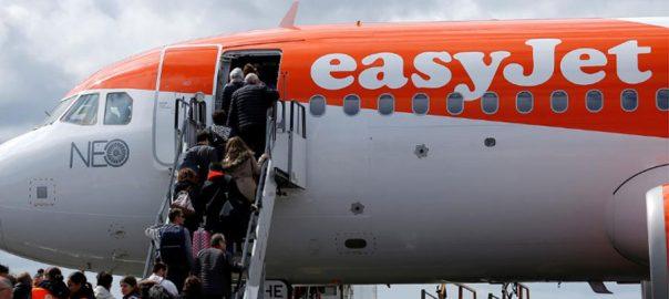 easyjet Budget offset carbon flights