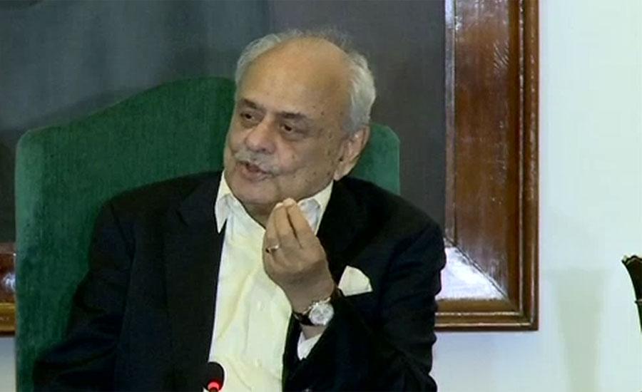 Nawaz, Maryam's names on ECL by NAB not govt: Ijaz Shah