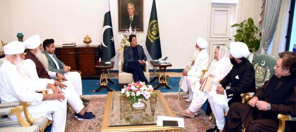 Sikh, delegation, thanks, PM Imran Khan, opening, Kartarpur corridor