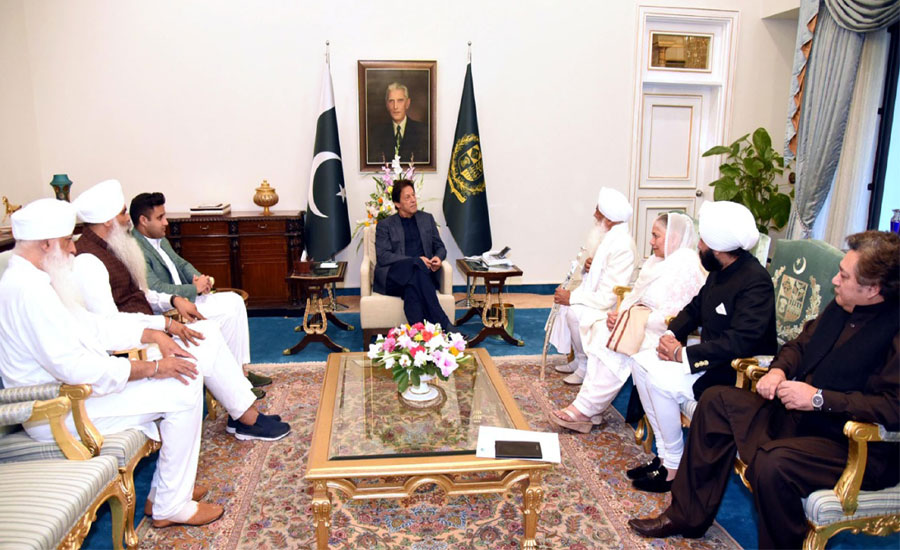 Sikh delegation thanks PM Imran Khan for opening Kartarpur corridor