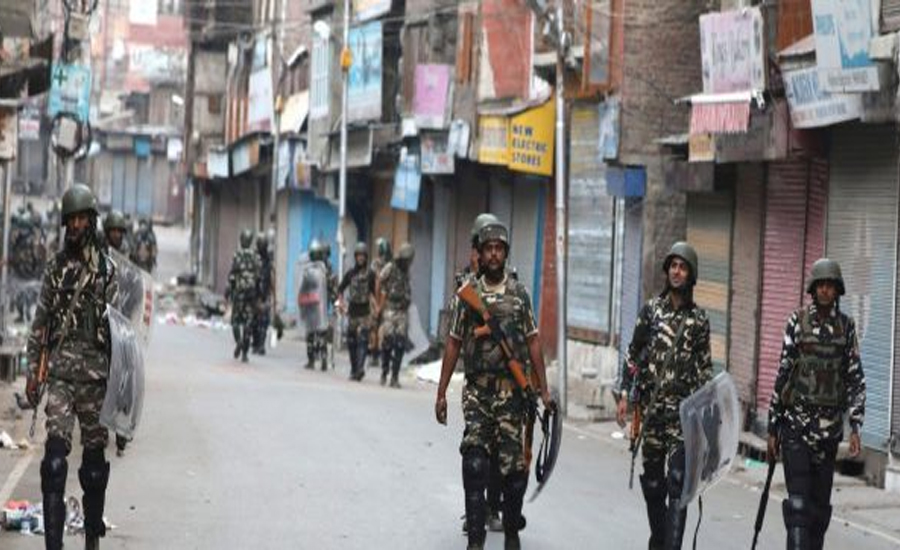 Indian troops martyr three youth as curfew enters on 114th day in IoK