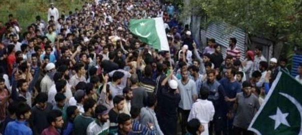 Martyrs' Day LoC Kashmiris Indian Occupied Kashmir Youme Shuhda AJK president Raja Farooq Haider
