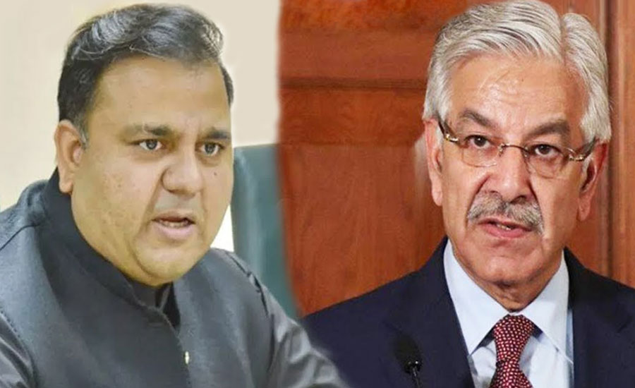 Fawad Ch submits privilege motion against Kh Asif for telling lie in NA