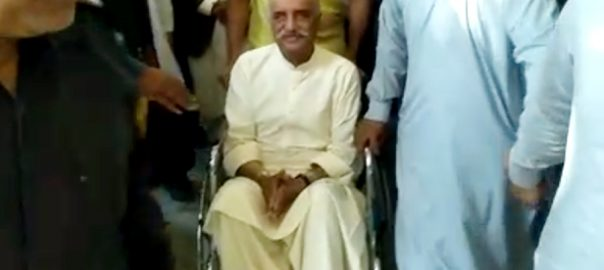 remand physical remand Khursheed Shah PPP Pakistan Peoples Party