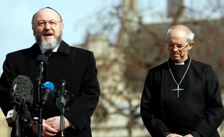 Britain's chief rabbi warns 'poison' of anti-Semitism in Labour