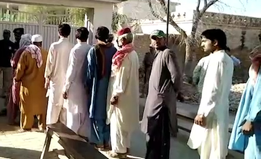 Vote count underway as polling ends for by-election to PS-86 Dadu
