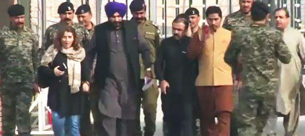 Sidhu Novjat Singh Sidhu Kartarpur India Pakistan kartarpur opening