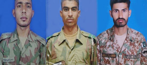 Three, soldiers, martyred, NWA, IED, blast