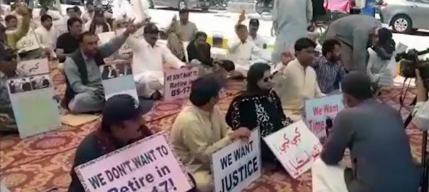 Teachers, end, protest, successful, talks, govt, Karachi