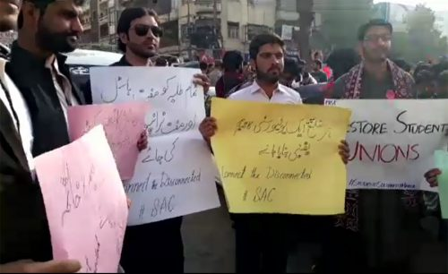 Demonstrations, ban, student, unions, country