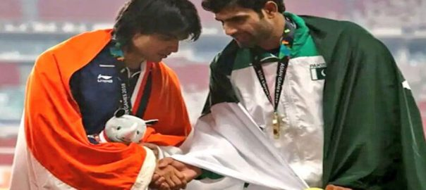 gold medal, javelin thrower Arshad Nadeem second position Shivpal Singh South Asian games