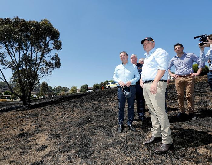 Australian PM announces compensation for volunteer firefighters