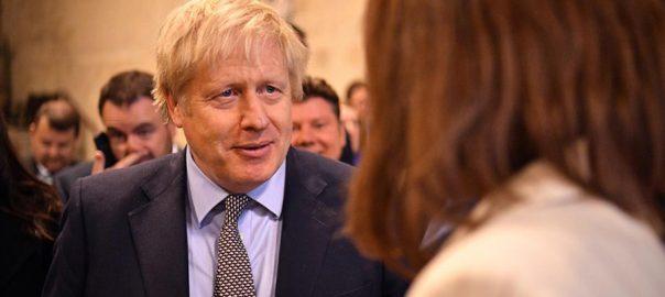 Johnson UK EU trade deal 2020 LONDON Reuters British Prime Minister Boris Johnson