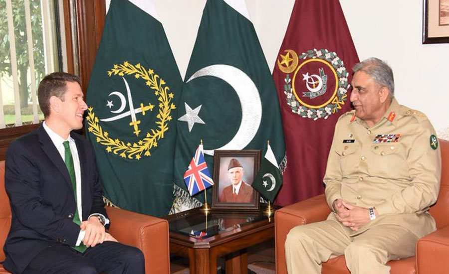 Chief of Army Staff COAS intrest UK High Commissione