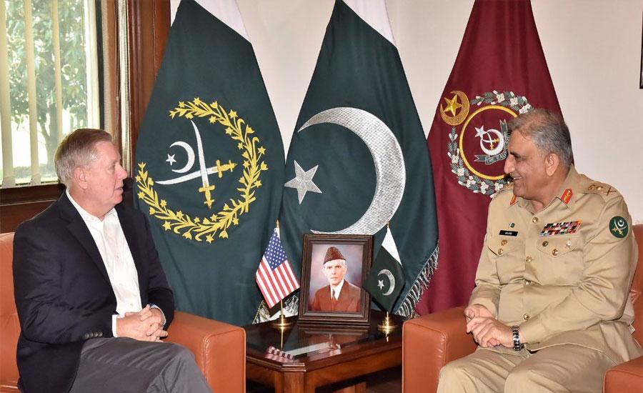 COAS, US senator discuss Afghan reconciliation process