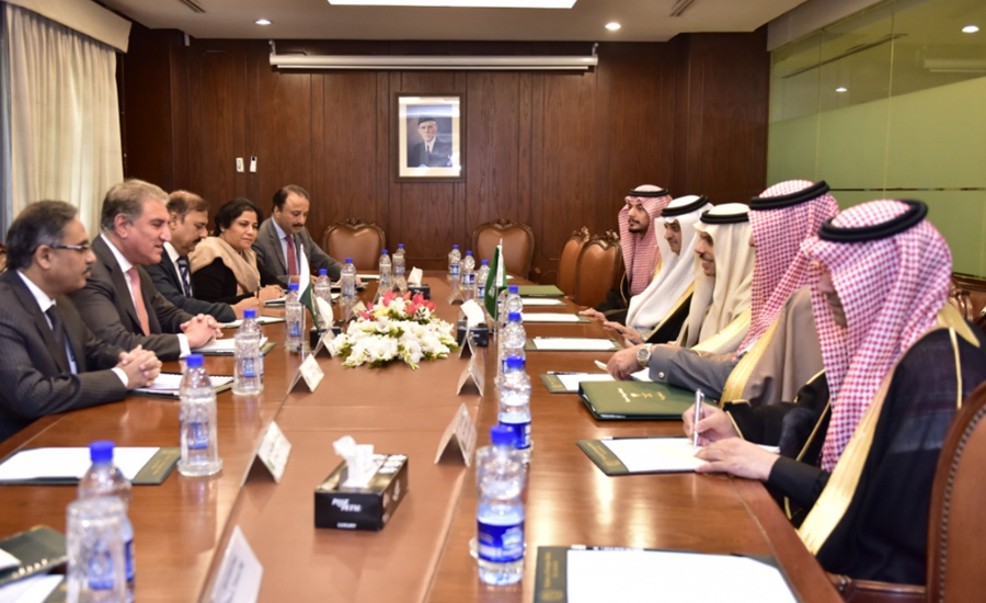 Saudi FM, Qureshi agree to continue bilateral consultations on key matters