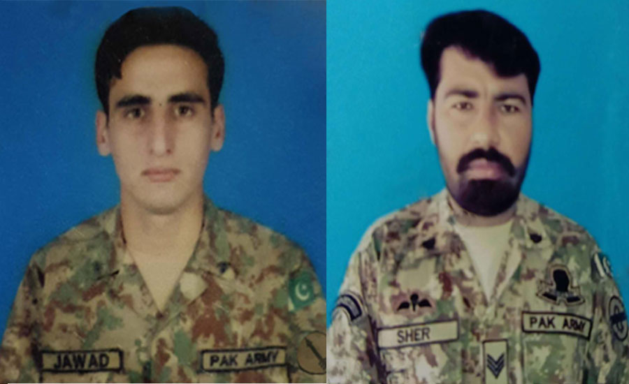 Two soldiers martyred, as many terrorists killed in North Waziristan IBO
