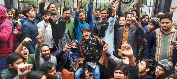 Student, protests, India, citizenship, law, spread, clashes, campuses