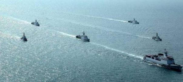 maritime exercise barracuda Open sea phase of exercise Barracuda-X open sea Pakistan navy