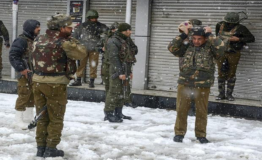 Chill adds to Kashmiris' miseries as lockdown in IOK enters 132nd day