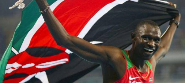 Kenya Rudisha fitness Olympic ELDORET Reuters