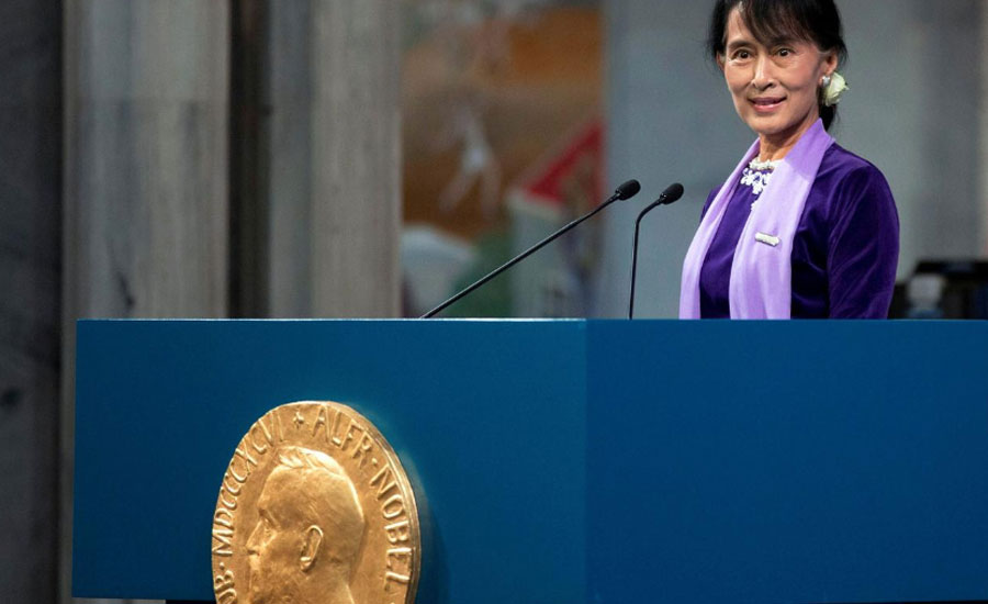 Suu Kyi Myanmanr The Hague myanmar leader home audiecne