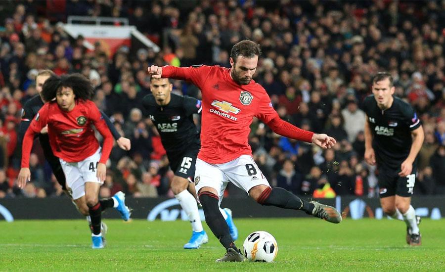 Mason Greenwood, Manchester United, AZ Alkmaar, 4-0, Enzo Crivelli, Istanbul Basaksehir, Europa League group stage.