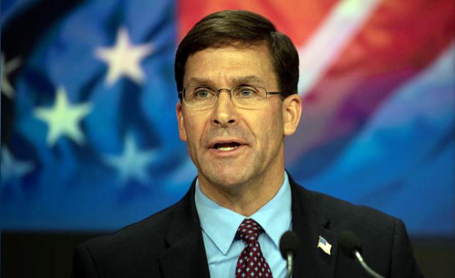 US troop drawdowns in Afghanistan 'not necessarily' tied to Taliban deal: Esper