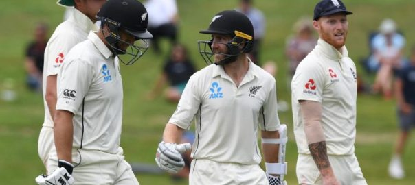 Rain, brings, early, end, second, Test, New Zealand, win, series