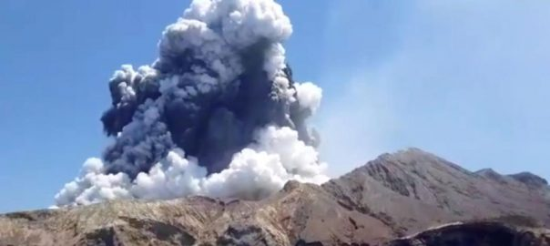 missing NZ New Zealand volcano eruption kills five