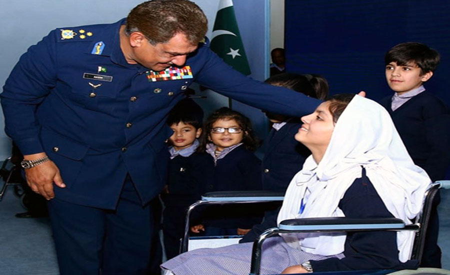 PAF arranges ceremony with Int'l Day of Persons with Disabilities