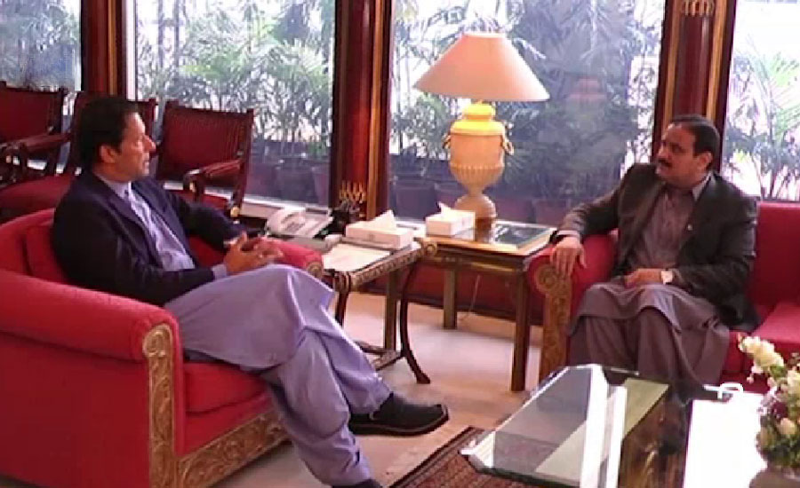 Punjab CM briefs PM Imran Khan about recent administrative changes